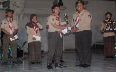 Tim penegak PRAMUKA SMK CORDOVA Margoyoso meraih juara pertama nasional